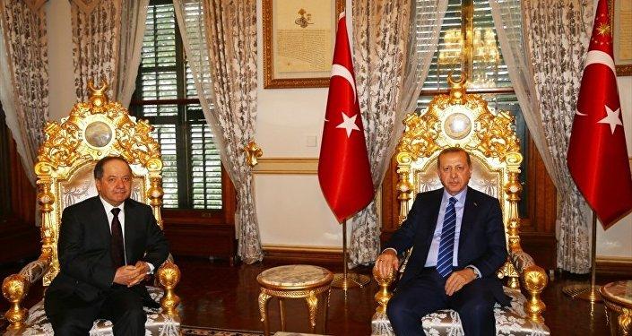 Recep Tayyip Erdoğan - Mesud Barzani