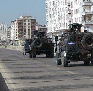 El Bab'a askeri araç sevkiyatı