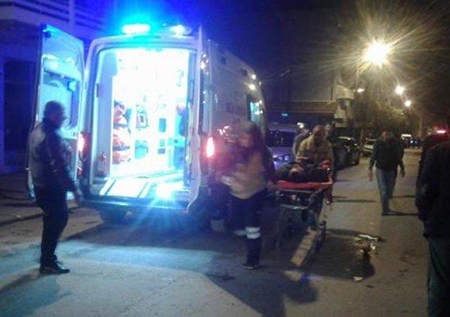 ambulans, hastane