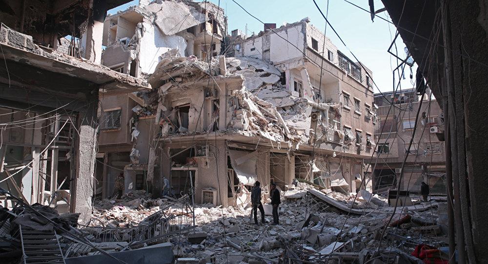 Şam: Suriye ordusu, silahlı örgütlerin tünellerini patlattı