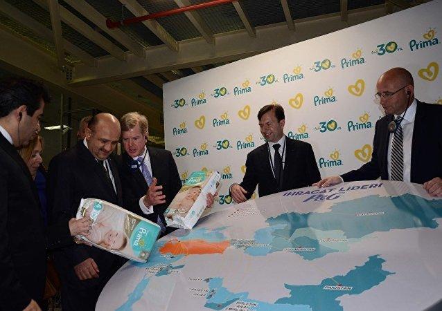 Procter&Gamble Türkiye'nin yeni yatırımlarının açılışına katılan Savunma Bakanı Fikri Işık