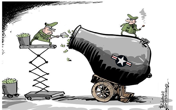 ABD savunma harcamalarını 54 milyar dolar artırıyor.