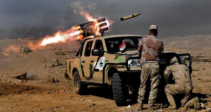 Musul'da Irak ordusu askerleri