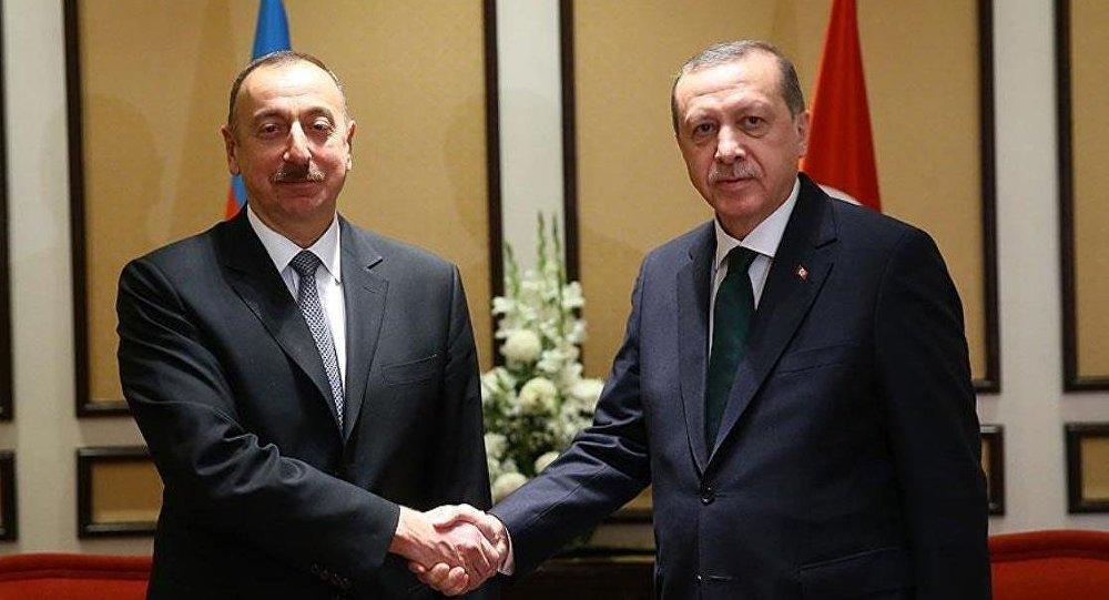 Aliyev, Erdoğan'ı kutladı