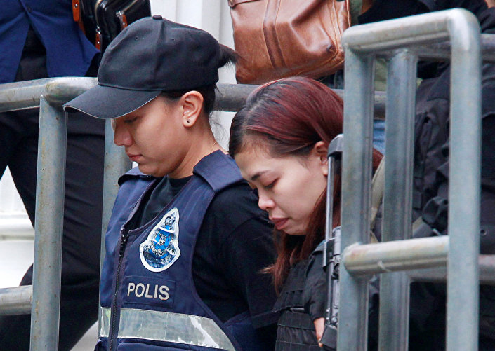 Kim Jong nam suikasti şüphelisi Siti Aisyah