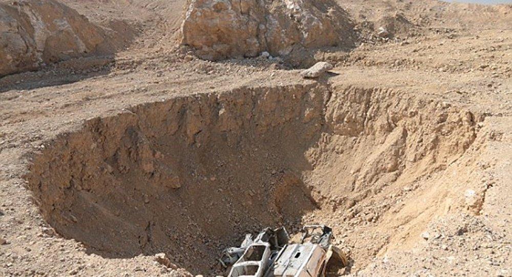 Musul'daki Khasfa isimli çukurda 4 bin ceset bulundu