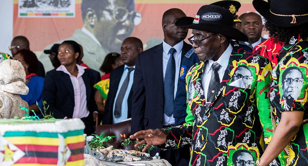 Zimbabve Devlet Başkanı Robert Mugabe, 93. doğum doğumgünü kutlamalarında