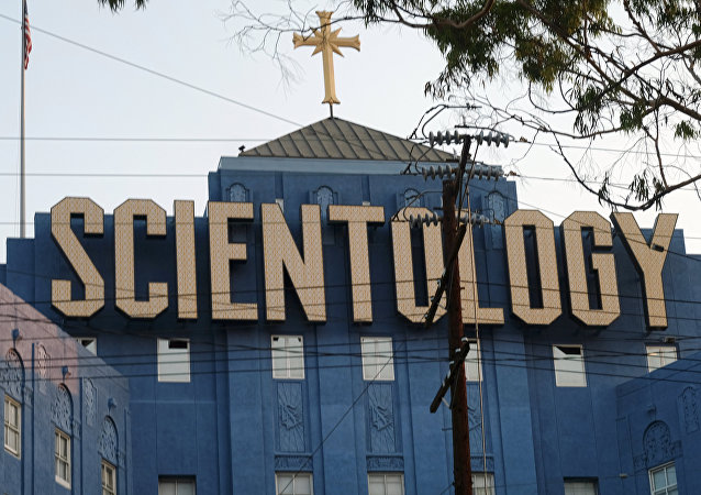 ABD'nin Los Angeles kentindeki Scientology tarikatı kilisesi