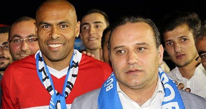 Erzurumsporlu futbolcu Mert Nobre