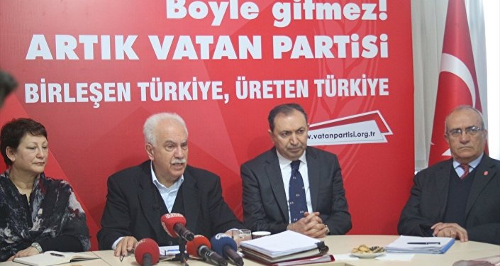 Vatan Partisi Genel Başkanı Doğu Perinçek