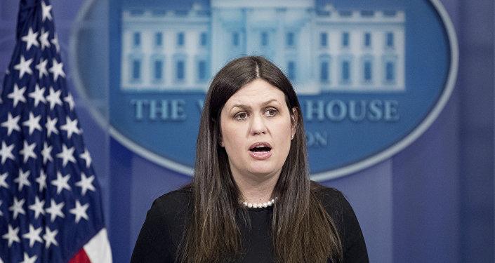 Beyaz Saray sözcülerinden Sarah Sanders