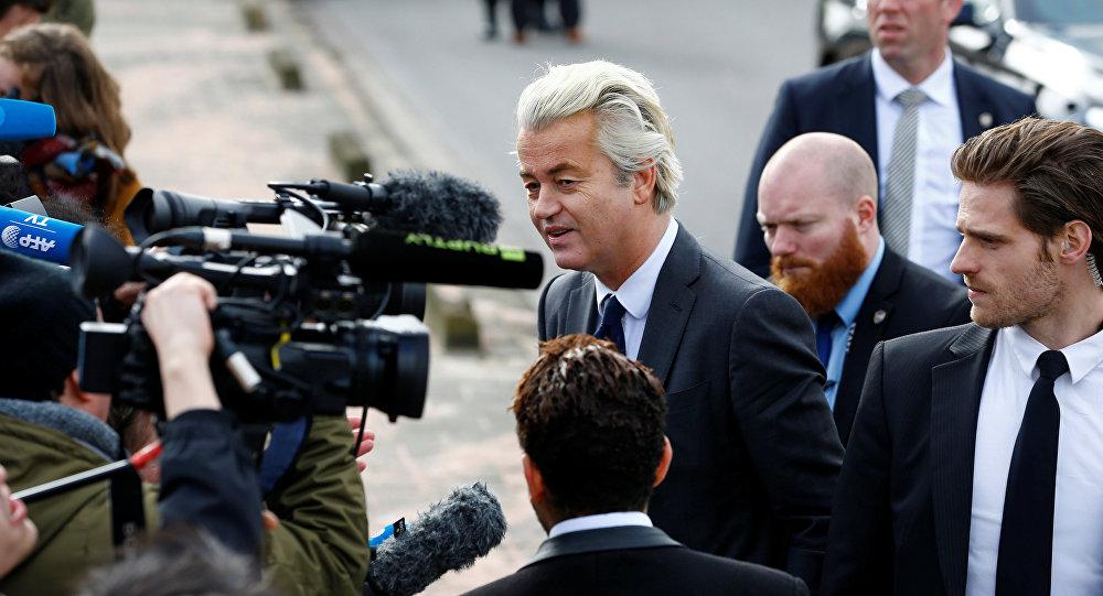 Hollanda'da Özgürlükler Partisi (PVV) lideri Geert Wilders