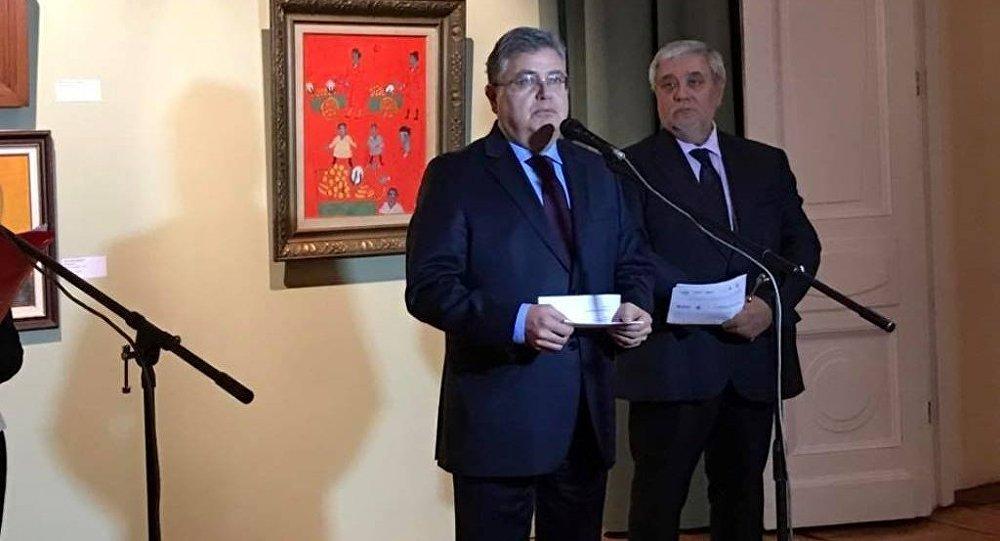 Moskova'da Bilge Koleksiyonu sergisi açıldı