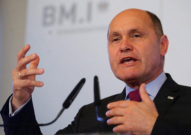 Avusturya İçişleri Bakanı Wolfgang Sobotka