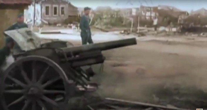 Stalingrad çatışmasının bilinmeyen renkli görüntüleri yayınlandı