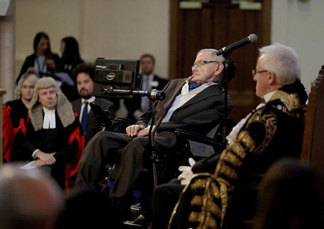 Fizikçi Stephan Hawking