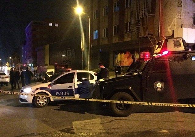 İstanbul'da polis