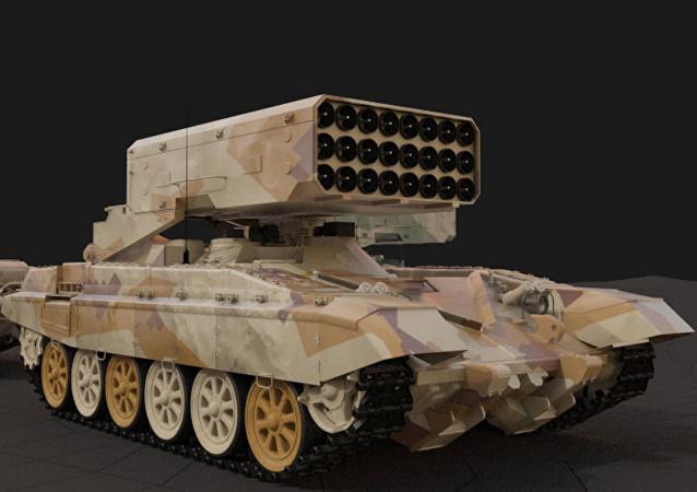 Ağır alev makinesi TOS-1A