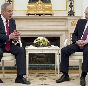 İsrail Başbakanı Binyamin Netanyahu ve Rusya Devlet Başkanı Vladimir Putin