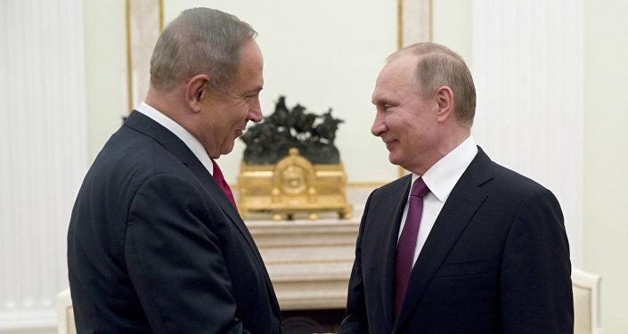 Benyamin Netanyahu - Vladimir Putin
