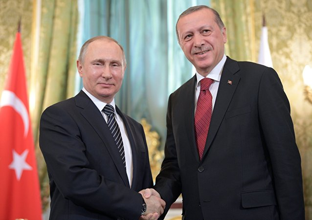 Vladimir Putin - Recep Tayyip Erdoğan / 10 Mart 2017 - Kremlin