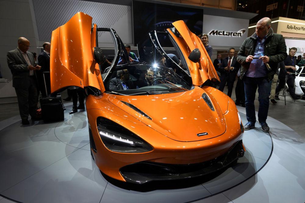 McLaren 720S otomobili, Super serisi spor arabalarının ikinci nesli. Selefine (650S) göre çok daha hafif olan bu araba geliştirilmiş aerodinamik performansa sahip.