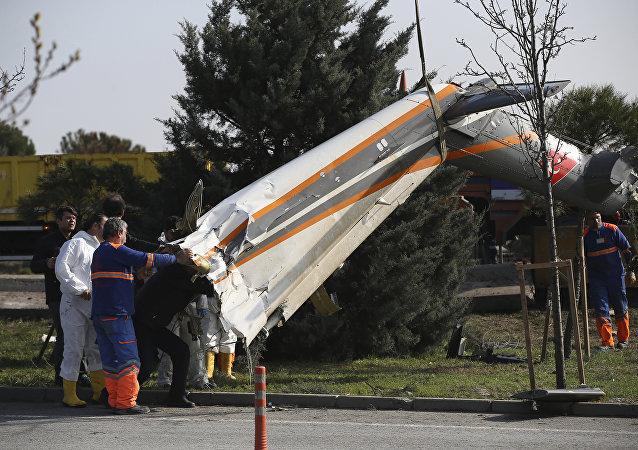 İstanbul'daki helikopter kazası