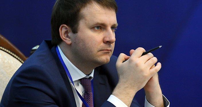 Rusya Ekonomik Kalkınma Bakanı Maksim Oreşkin