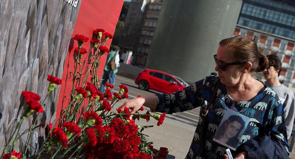 Madrid'deki terör saldırısının yıldönümünde kurbanlar anıldı