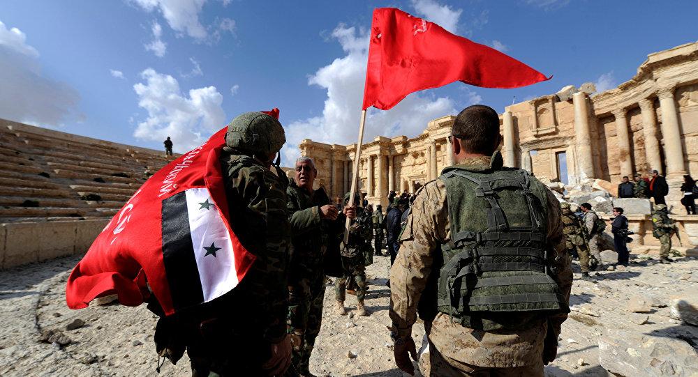 Suriye askerleri