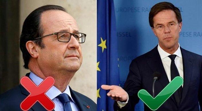'Fransa Cumhurbaşkanı Hollande ile Hollanda'yı karıştırmayın!'