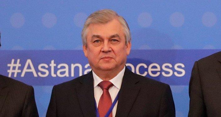 Rusya Devlet Başkanlığı Suriye Özel Temsilcisi Aleksandr Lavrentyev