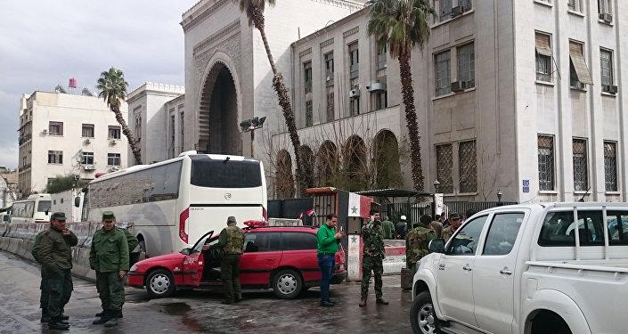 Şam'da Adliye Sarayı'na intihar saldırısı düzenlendi