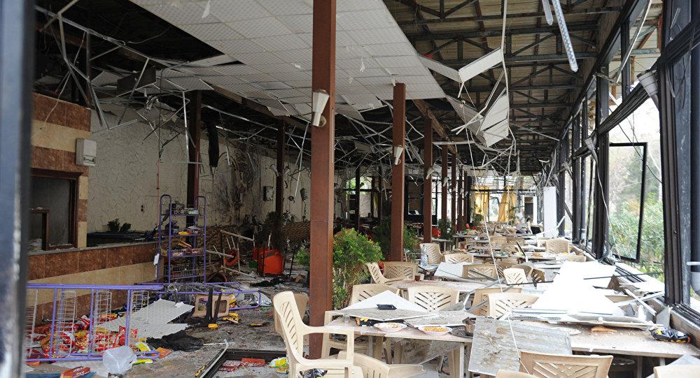Şam'da terörist saldırılar
