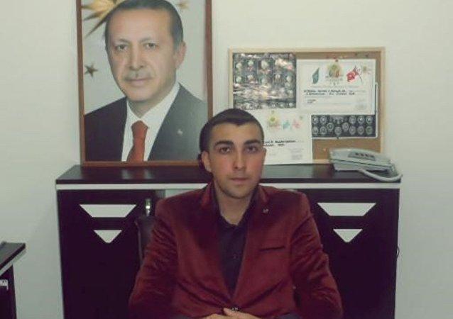 Osmanlı Ocakları Derneği İstanbul İl Başkanı Furkan Gök