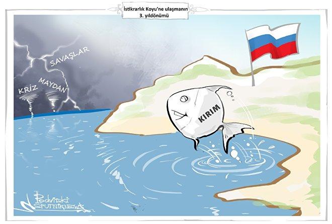 Kırım'ın Rusya'ya bağlanmasının 3. yıldönümü