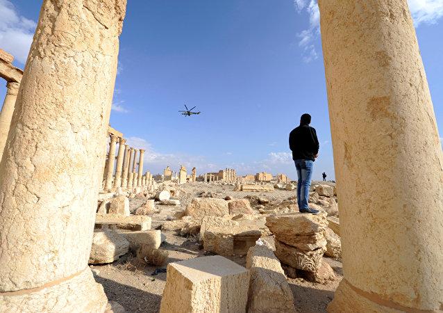 Palmira antik kenti