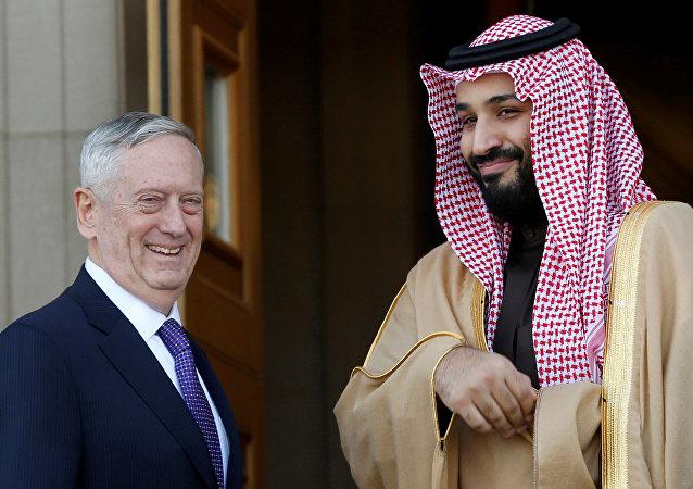 ABD Savunma Bakanı Mattis ile Suudi 2. Veliaht Prensi Bin Salman