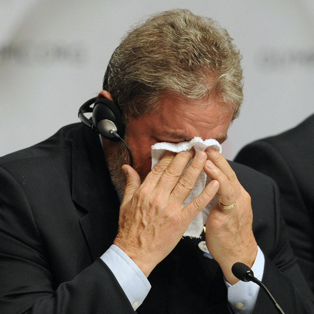 Eski Brezilya Devlet başkanı Luiz Inacio Lula da Silva, 2 Ekim 2009'da Rio de Janerio'nun 2016 Olimpiyat Oyunları'nı ağırlamaya hak kazandığını öğrendiğinde mutluluk gözyaşlarına engel olamamıştı.