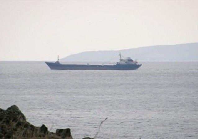 Libya açıklarında batan TINAZTEPE S isimli Türk gemisi