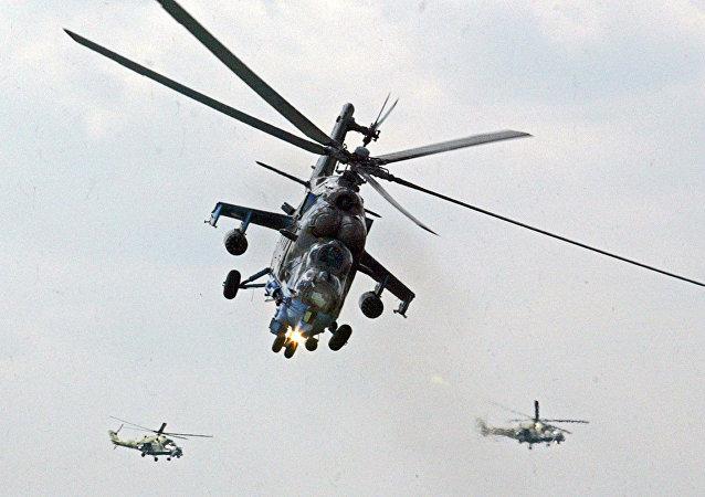 Mi-24 helikopter