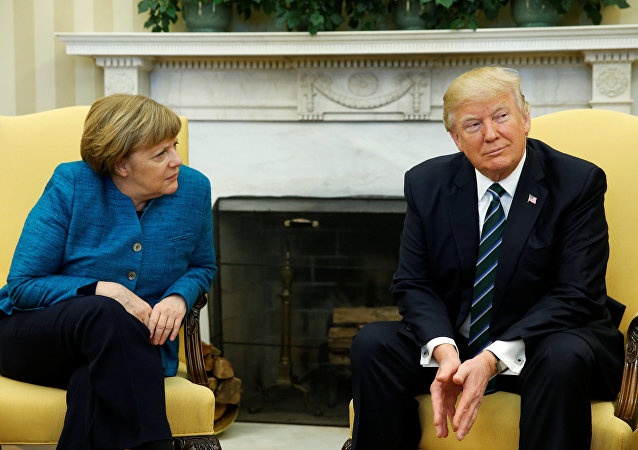Donald Trump - Angela Merkel