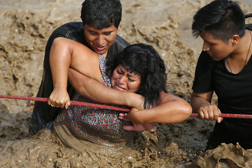 Peru'da sel felaketi