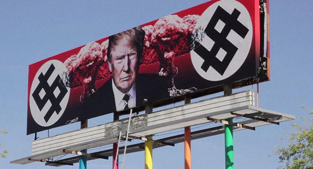 Arizona'da tartışmalı 'Trump' görseli
