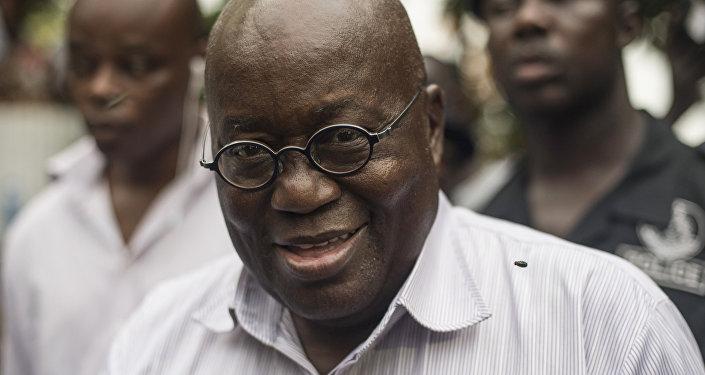 Gana Devlet Başkanı Nana Akufo-Addo