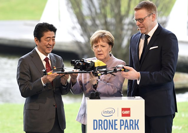 Angela Merkel - Şinzo Abe / İHA