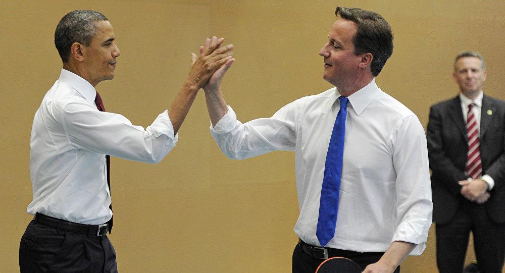 David Cameron - Barack Obama