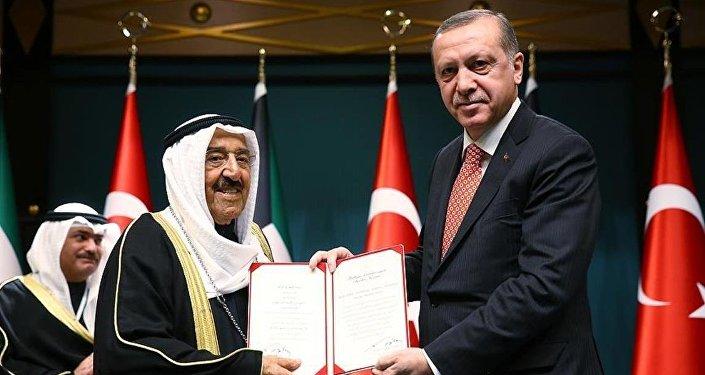 Kuveyt Emiri el Sabah'a Devlet Nişanı