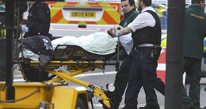 İngiliz parlamentosu önünde saldırı
