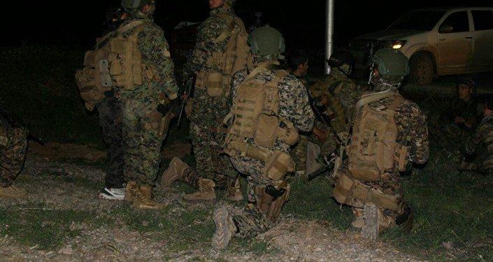 Tabka'daki ABD güçleri